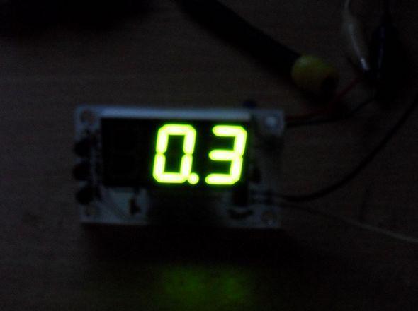 Current Measurement AmMeter Circuit PIC16F84 ACS712 current sensor project 16f84a akim olcumu ampermetre