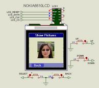 Nokia LCD Models Proteus isis  Examples Circuits  Library isis nokia lcds proteus vsm models nokia 6610 ciruit