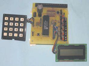PIC16F877 ile lcd göstergeli alarm devresi