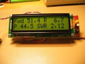 PIC16F877 ile lcd göstergeli dijital SWR metre devresi