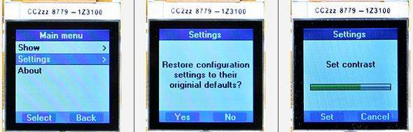 LCD Menu interface Project PIC18F2620 C18 Nokia6100 PCF8833 LCDDriver nokia6100 microchip c18 pic18f S1D15G10