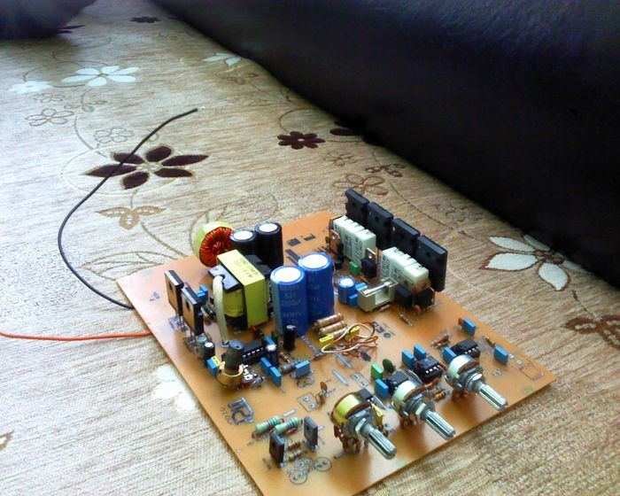 Jbl Filter Pot Smps Audio on dc voltage converter circuit