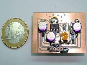 LD1117 ile 800ma ayarlanabilir regülatör devresi (smd)