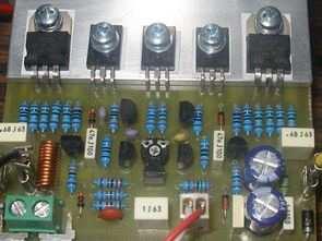 70 Watt transistörlü amfi devresi bd911 bd912