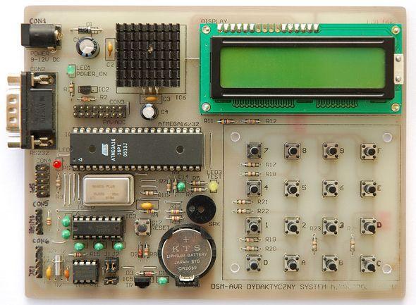 Atmel Development Board ATmega16 ATmega32 - Electronics