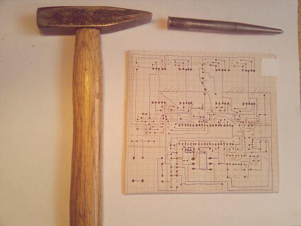 Edding PEN Draw  PCB Printed Circuit Board eding kalemi baski devre pcb cizimi plaket devresi 1