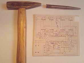 Eding kalemi ile baskı devre PCB hazırlama