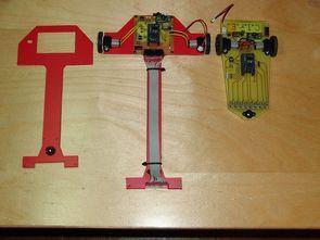 Hızlı  çizgi izleyen robot tasarımları (orangutan B-328 modul PIC16F877)