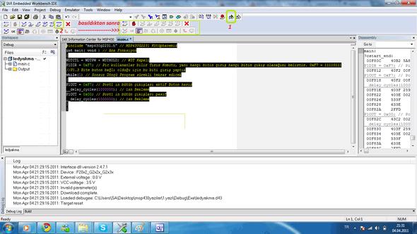 iar-msp430-include-msp430g2231-MSP430G2231