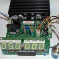 0-24v 0-1.5 amper güç kaynağı devresi atmega8 display akım voltaj gösterge
