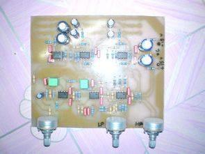 NE5532 Crossover aktif ses filtre devreleri