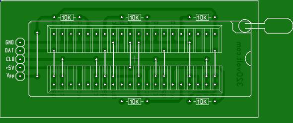 pickit-2-adapter-zip-40-pin-platine-layout-pcb