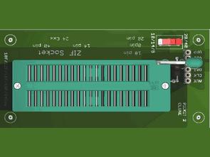 pickit-2-icsp-cikisi-icin-zif-soket-adaptor-modulu
