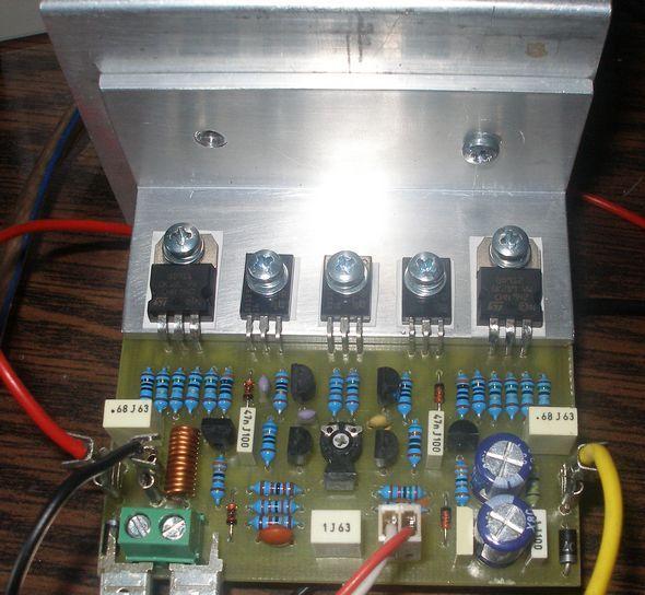 BD911 BD912 Transistor 70W Amplifier Circuit uni50 amfi 70 watt amplifier circuit transistor amp