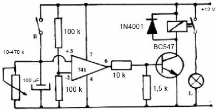 741-op-ampiyla-yapilan-turn-off-tipi-zaman-rolesi-devresi