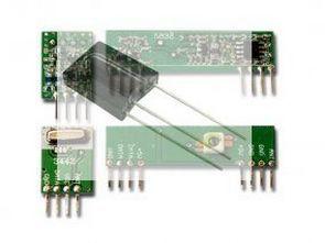 8 kanal uzaktan kontrol  kumanda  IR ve RF  alıcı verici devreleri