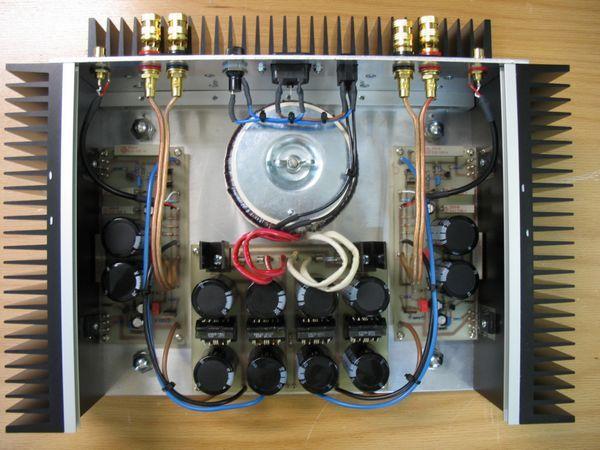 Class A Hi Fi Amplifier Circuit AlephM ALEPH M top