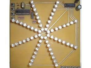 AT90S2313 led pervane 12 efekt (TINY2313)