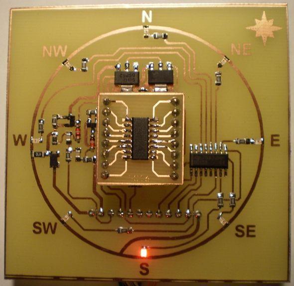 compass-circuit-kmz52-elektronik-pusula-devresipusula