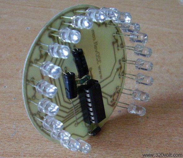 20 Led VU Meter Circuit KA2281 ka2281 10 led ka2281 vu metre 0