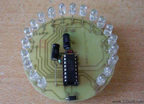 20 Led Vu Meter Circuit Ka2281 Electronics Projects Circuits