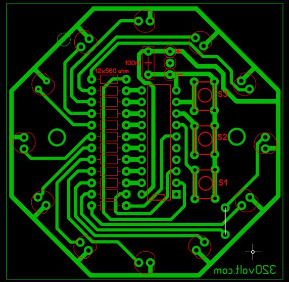 led-efekt-pcb-board