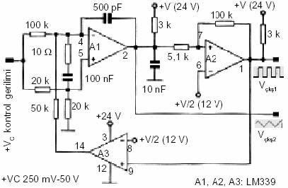 lm339-op-ampli-gerilim-kontrollu-vco-osilator-devresi
