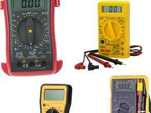 Multimetre ölçü aleti şemaları