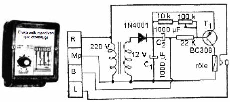 npn-ve-pnp-transistorlu-merdiven-isik-otomatigi-devresi