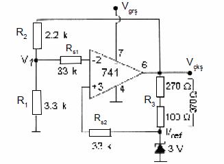 op-ampli-voltaj-regulatoru-devresi