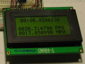 PIC18F4680 hassas hız hesaplama devresi picbasic pro