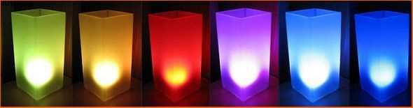 RGB Led Example Circuit  Atmega88 Atmega8 Atmega48 rgb led lamba lamp atmega rgb leds