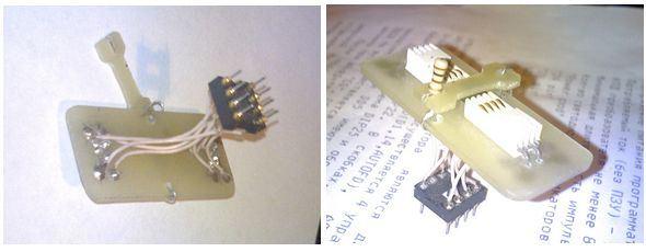 Motherboard PCI Hack SMD SOIC SOP Adapter  smd adaptor soic aparat sop soket pci diy 4
