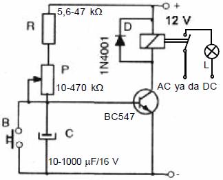 tek-transistorlu-aliciyi-gecikmeli-calistiran-turn-on-tipi-zamanlayici-devresi