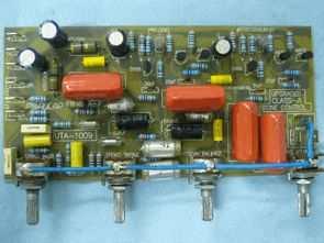 Transistörlü Stereo Class A ton kontrol devresi (2sa872, 2sd666)