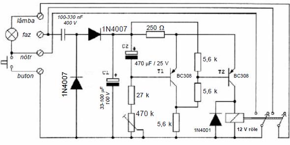 transistorlu-trafosuz-merdiven-isik-otomatigi-devresi