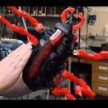 Altı bacaklı dev robot yapımı