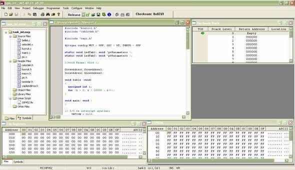 microchip-mplab-c18-isletim-sistmi-pic-programlama