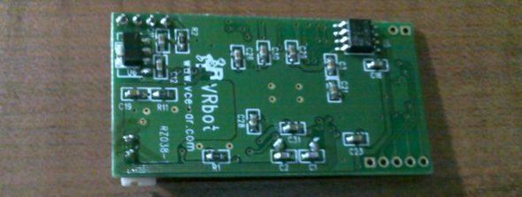 msp430G2231-vrbot-modul-pcb-robot-msp430-ses-audio-sens-speaker-ependent