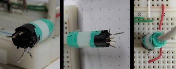 ps2-konnektor-bred-board-devre-pic16f726-ps2-mous-test-circuit