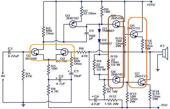 amplifier-circuit-transistor-matching