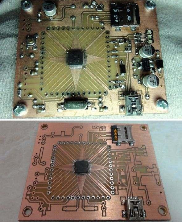 arm-lpc1343-development-board-cortex-usb-pcb-spi