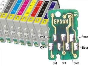 Epson Kartuş Çip Resetleme devresi PIC12F629