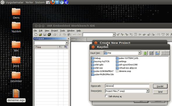 iar-embeded-tmp-folder-linux-create-new-project-c-main-msp430