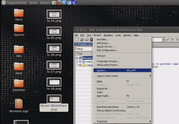 iar-linux-options-test-msp430