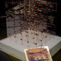 Atmega32 74HCT238 kod çözücü Led küpü