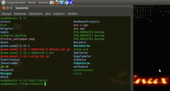 linux-indirilenler-klasorunde-oldugumuzu-yazacagimiz-kodlar