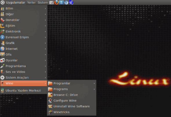 linux-ubuntu-uygulamalar-wine-sekmesinden