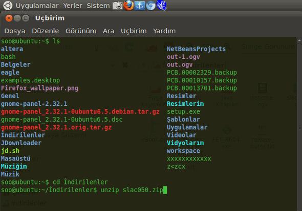 linux-ubuntu-zip-dosyasindan-cikarma