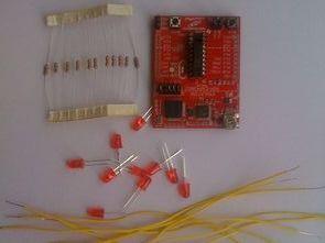 MSP430 Launchpad Kit ile Sıralı Led Uygulamaları